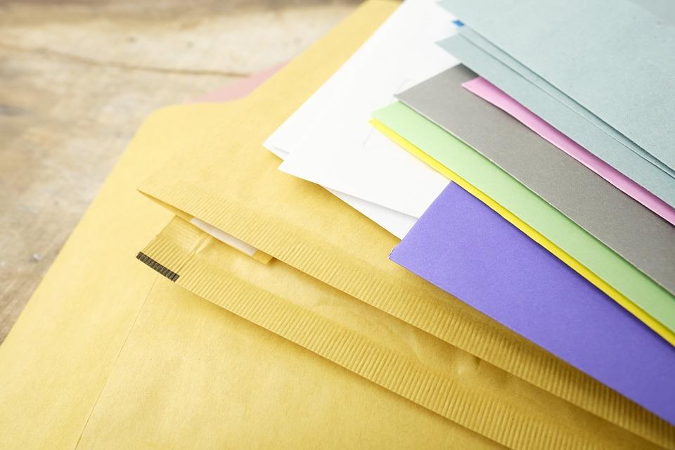 enveloppes papeterie d'entrepise
